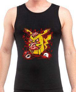 zombie pikachu Tanktop for unisex adult