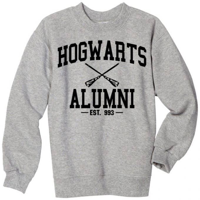 Hogwarts alumni sweatshirts