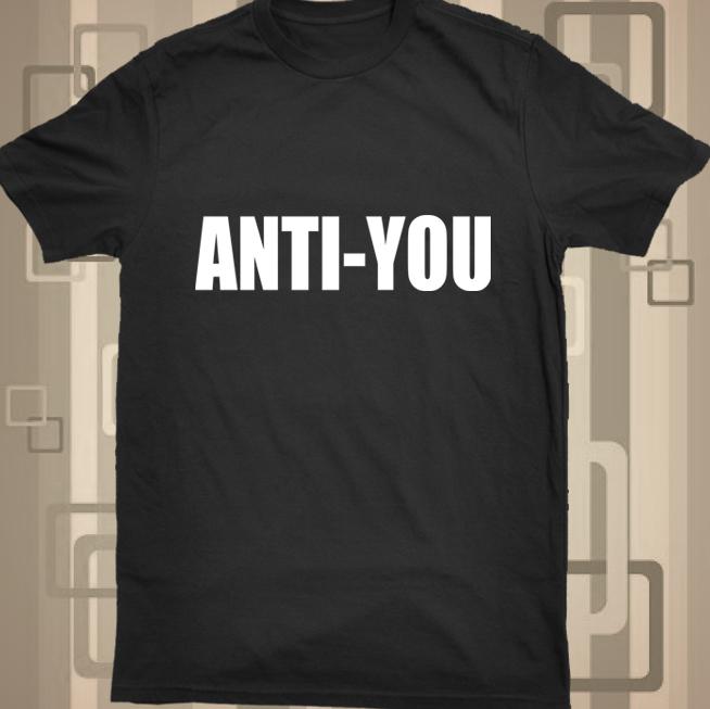 ANTI YOU black