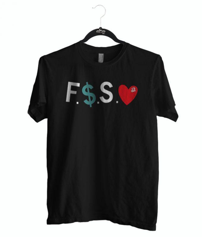 funny tshirt fuck money spread love