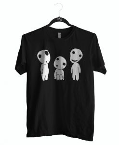 Favorite tshirt kodama princess mononoke for men and women
