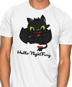 night furry tshirt unisex for men and women