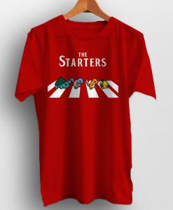 Pokemon the starters tshirt for men and women