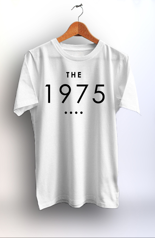 4f2ebd92b The 1975 Custom Printed Unisex Tshirt Graphic Print