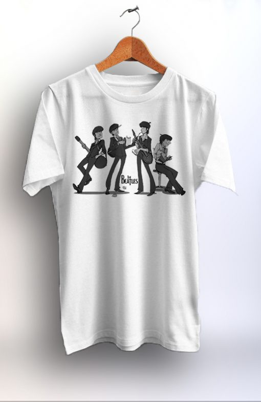 Best Quality The Beatles Unisex Tshirt Graphic Print