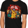 zombie pikachu dead inside tshirt unisex for men and women