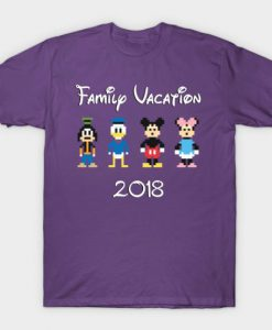 Family Disney Vacation 2018 T-Shirt