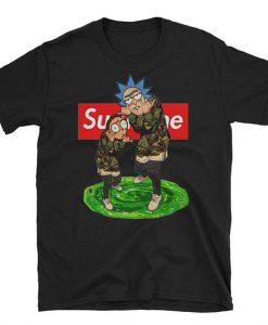Rick And Morty Supreme T-shirt