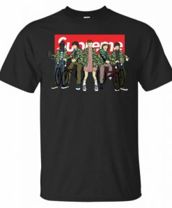 Supreme With All The Stranger Things T-shirt