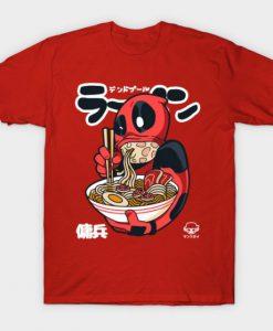 The Merc Deadpool Ramen T-Shirt