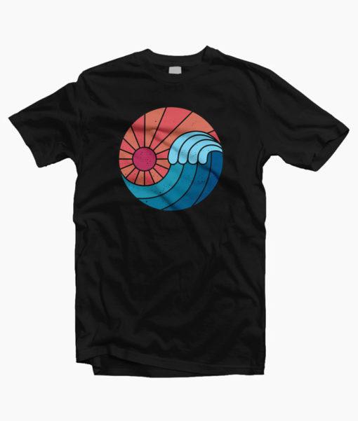 Sun And Sea Wave T-Shirt