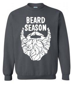 Beard Season Funny Christmas Sweatshirt