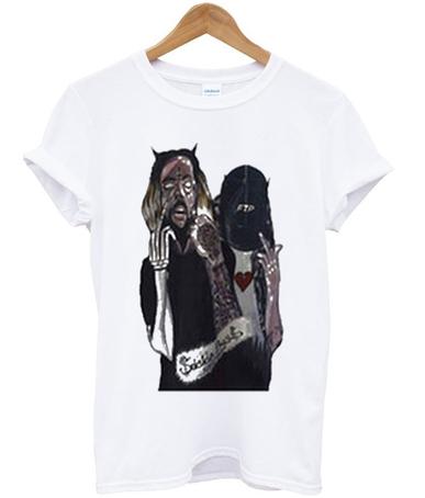 Fuckthepopulation Suicideboys T-shirt