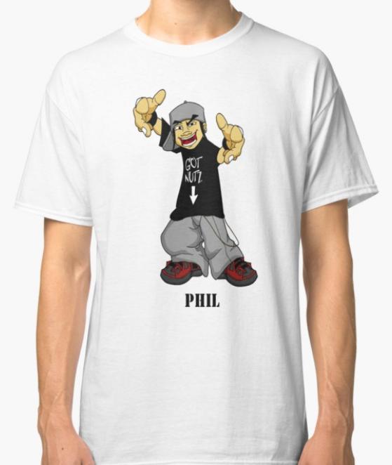 Got Nutz Phil T-shirt