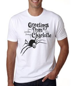 Greetings from Charlotte T-shirt