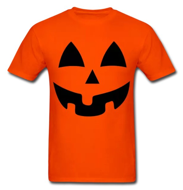 Halloween Pumpkin Face T-shirt