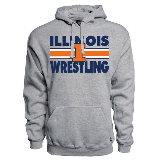 Illinois Wrestling Hoodie