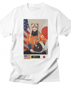 Japanese Astronaut Usagi T-shirt