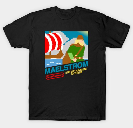 Maelstrom Entertainment System T-shirt