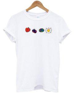 Peach Plum Earth Sun T-Shirt
