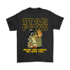 Star Paws Meow The Force Be With You Star Wars T-shirt