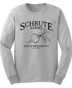 Schrute Farms Bed and Breakfast Sweatshirt
