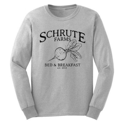 Schrute Farms Bed and Breakfast Sweatshirt