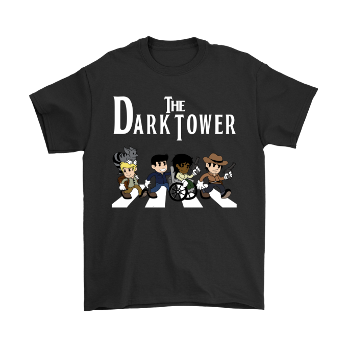 THE DARK TOWER ABBEY ROAD STEPHEN KING SHIRTS