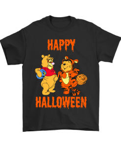 Tigger And Pooh Happy Halloween T-shirt