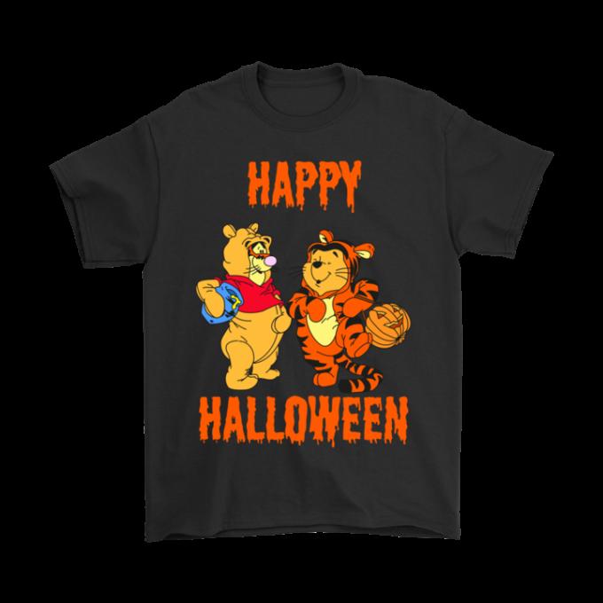 Tigger And Pooh Happy Halloween T-shirt