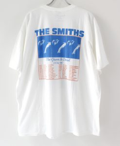 The Smiths The Queen Is Dead Us Tour 86-T-shirt