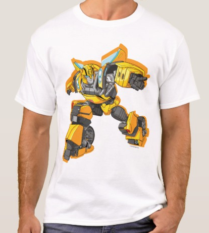 Bumble Bee Pointing Pose T-shirt