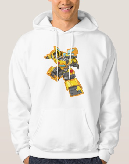 Bumble Bee Reach Pose Hoodie