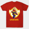 Captain Marvel Rising T-shirt