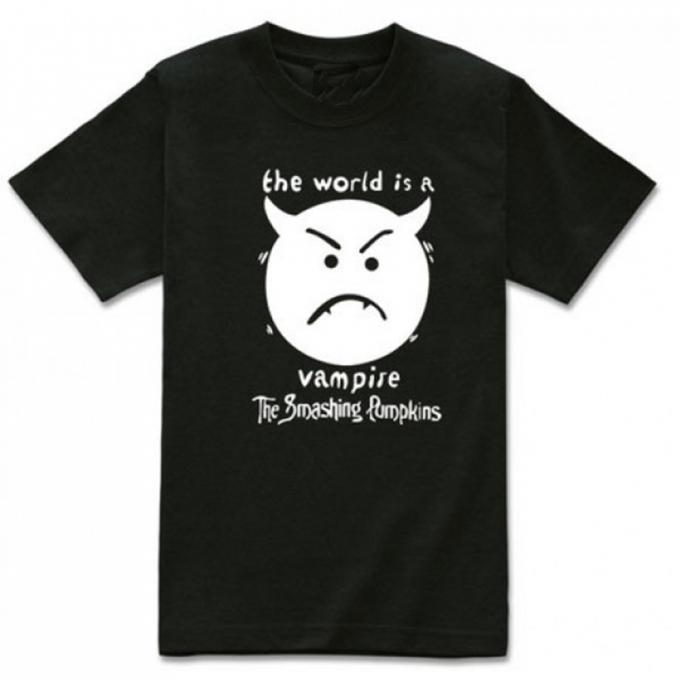 The Smashing Pumpkins The World Is Vampire T-shirt