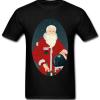 Christmas Santa Astronaut T-shirt