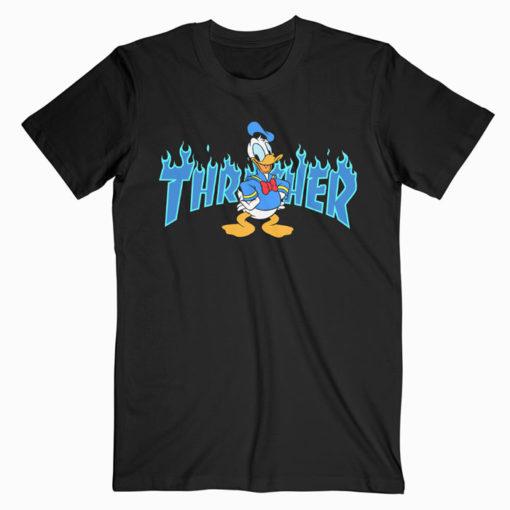 Donald Duck Thrasher Collab T-shirt