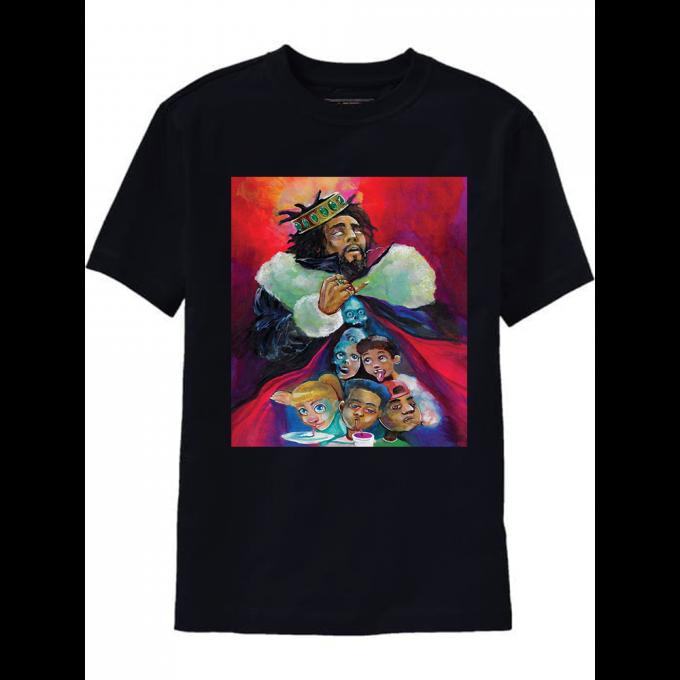 J Cole KOD Album Cover T-Shirt