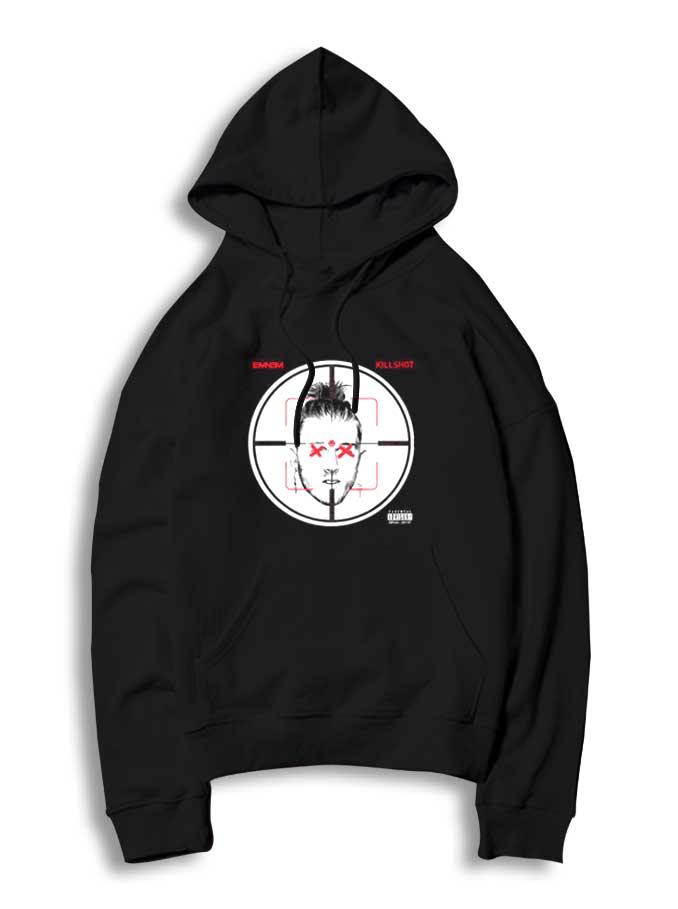 Eminem Killshot Scope Logo Womens T Shirt Kamikaze Rap Ladies Girls Tee White