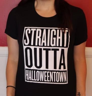 Straight Outta Halloweentown T-shirt
