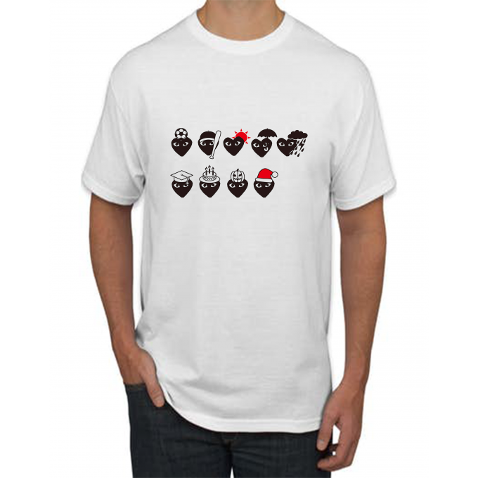 Character Comme Des Garcons T-shirt