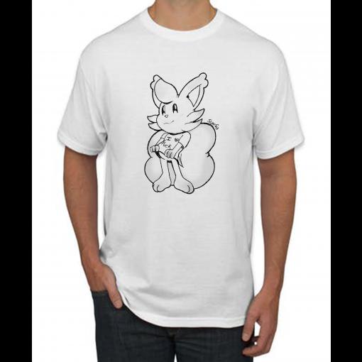 Scarfy I Love Fuck T-shirt