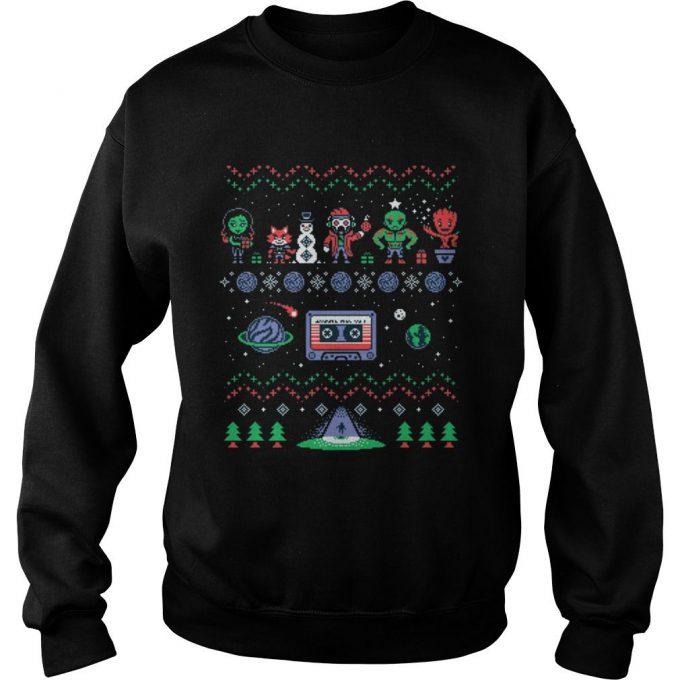 Guardians Galaxy Team Ugly Sweatshirt