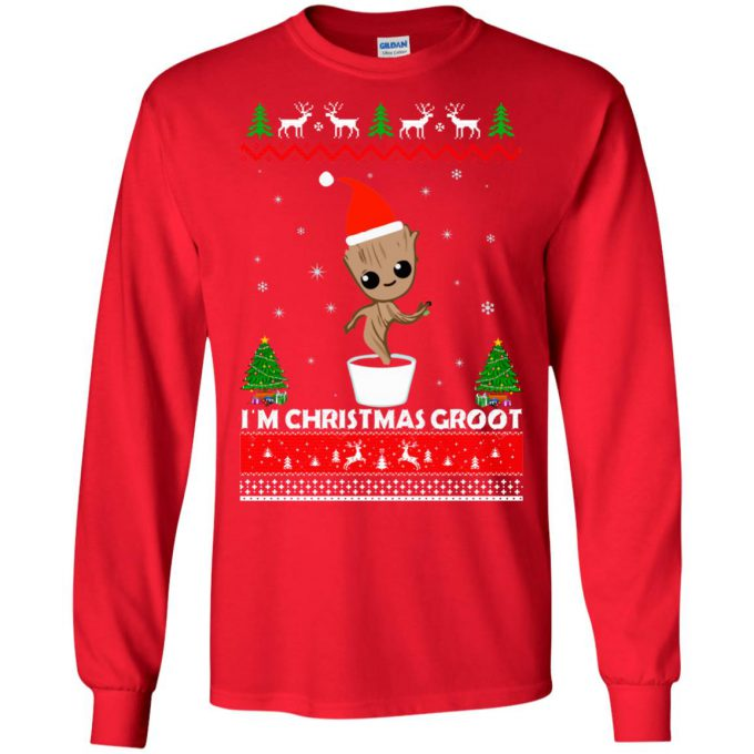 I'm Christmas Groot Ugly Sweater
