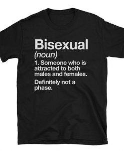 Bisexual Definition LGBT Pride T-Shirt
