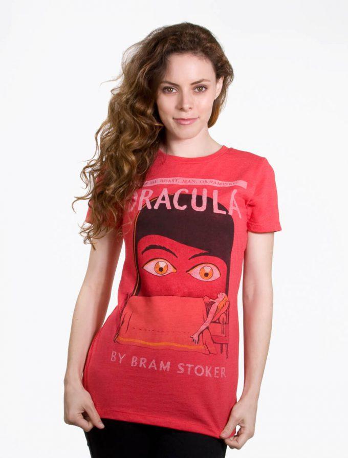 Dracula By Bram Stoker T-shirt 2