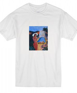 Paint Girl T-shirt