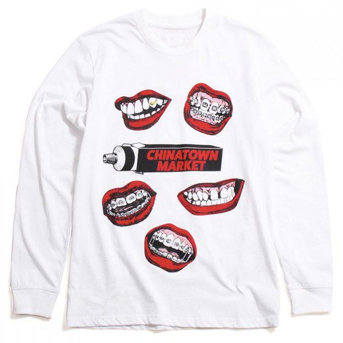 Chinatown Market Mouth Sweatshirt