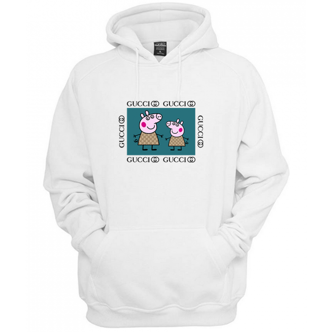 Peppa Pig Family Gucci Green Hoodie