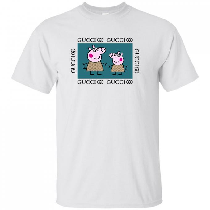 Peppa Pig Family Gucci Green T-shirt